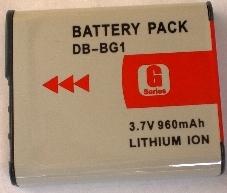 аккумуляторы к фото и видео Sony NP-BG1