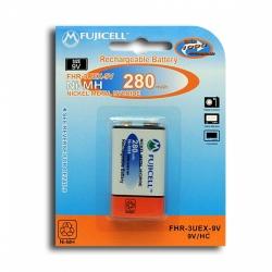 Аккумулятор Ni-Mh FUJICELL 9.0V 280mAh  6F22 типа крона