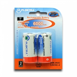 Аккумулятор Ni-Mh FUJICELL  C 1.2V 6000mAh