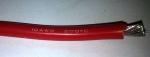Кабель силиконовый 10AWG красный - 20 см